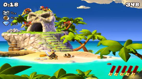download crazy chicken pirates game for pc highly compressed