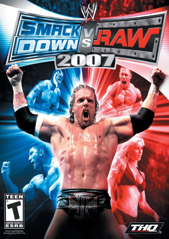 download WWE Smackdown Vs Raw 2007 for pc