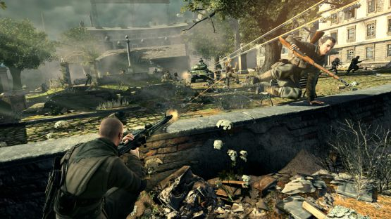 download Sniper Elite V2 2012 game for pc