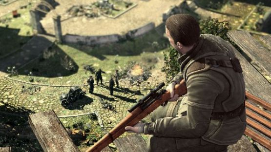 download Sniper Elite V2 2012 game for pc highly compressed