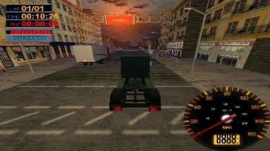 download Big Rigs Over the Road Racing game for pc full version