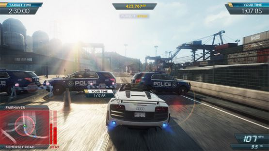 download Need For Speed Most Wanted game for pc full version