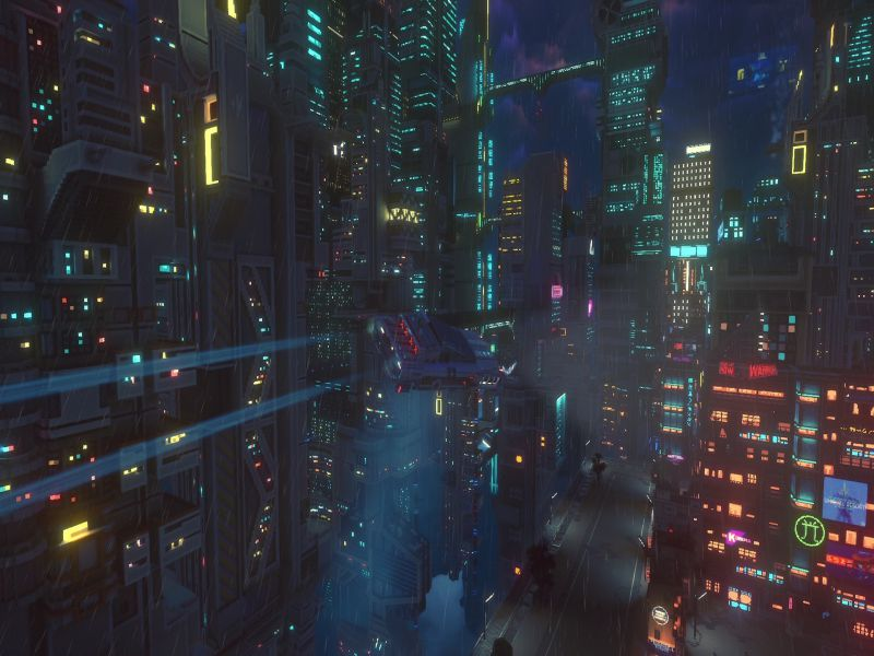 Download Cloudpunk City of Ghosts Game Setup Exe