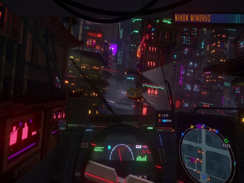 Cloudpunk City of Ghosts PC Game Free Download